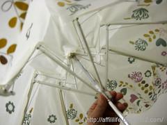 晴雨兼用折りたたみ雨傘(mini labo)の写真6