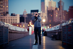 Shooting The Brooklyn Bridge photo by Dan Love