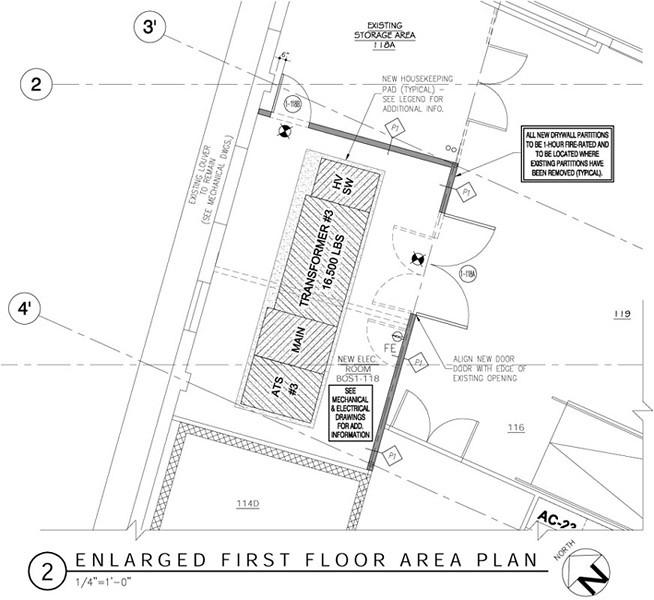 Wjg architects llc hillsdale nj for Data center floor plan