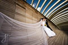 Ảnh cưới đẹp chụp tại Singapore photo by MarryWEDDING