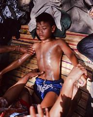"Young Boxer photo by Sailing ""Footprints: Real to Reel"" (Ronn ashore)"