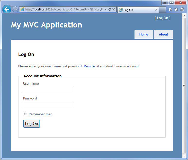 Pch registration page for authorization autos post for Login page in asp net template