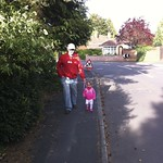 Walking to Granny & Grandads<br/>22 May 2011