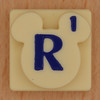 Disney Scrabble Letter R