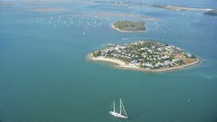 View of Sunset Key from above