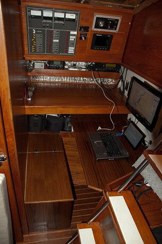New Nav Station Bench and Desk
