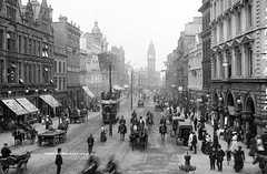 High Street, Belfast photo by National Library of Ireland on The Commons