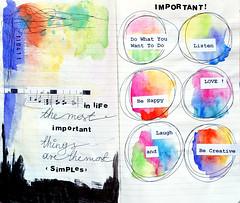 Art Journal ... Important (EXPLORE!) photo by Ula~