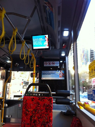 Free WiFi on Sydney Bus Apr 2011