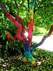 Crochet Tree photo by babukatorium