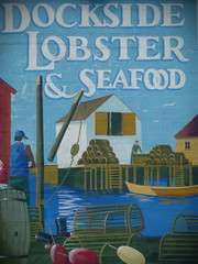 Mural in Lunenburg, Nova Scotia
