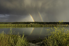 Double Rainbow photo by Andrej Trnkoczy