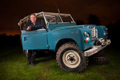 One Man And His Land Rover Series 3 photo by Jason Dale (Over 1 Million Hits And Coutning)