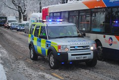 NX07AMY - LandRover Discovery - Cleveland Police UK photo by Photography on Teesside
