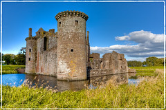 Caerlaverock Castle photo by brian_bru