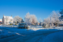 Keyingham under snow-0839