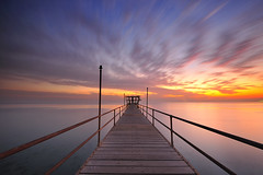 Kuwait - Fintas Sunrise photo by © Saleh AlRashaid / www.Salehphotography.net