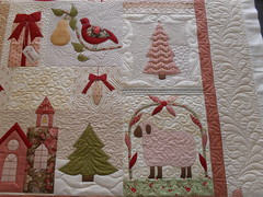 vintage christmas photo by Jessica's Quilting Studio