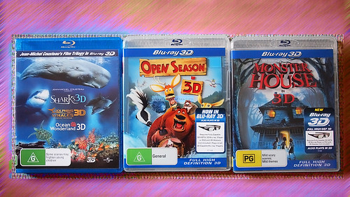 More Blu Ray 3D in Australia - Dec 2010
