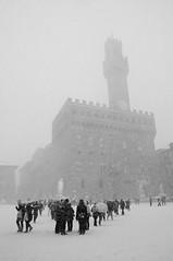 Ai suoi piedi, neve Signoria. photo by Angelica Gallorini