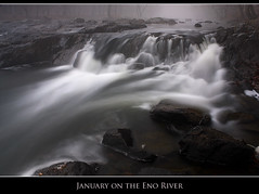January on the Eno River photo by Nate Montgomery