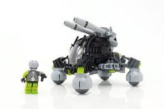 Assassin Cyborg and its vehicle photo by Robiwan_Kenobi