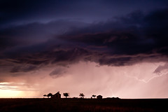 The Dawson Place/Storm On Southeast Colorado Plains photo by Dan Ballard Photography