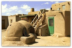 Taos Pueblo - Taos, New Mexico photo by Batikart