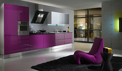 New inspiration: Purple Kitchens photo by New Inspiration Home Design