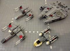 Star Wars Rebel Ships photo by Babalas Shipyards