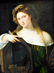Titian - Vanity at Alte Pinakothek Munich Germany photo by mbell1975