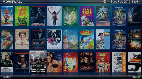 Diamond Simplified Movies Wall