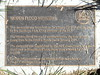 Woden Flood Memorial plaque