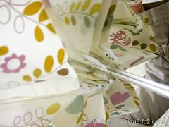 晴雨兼用折りたたみ雨傘(mini labo)の写真5