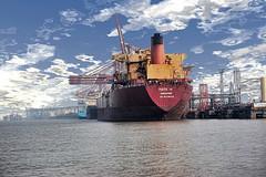 Navi Mumbai Sea Port photo by Vineet Radhakrishnan