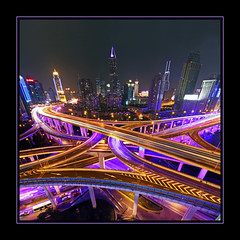 All roads lead to Shanghai photo by b80399