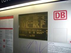 Abgestürzter Fahrkartenautomat