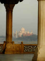 15 Taj view from the fort