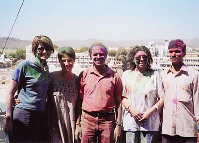 45 India - Udaipur Holi