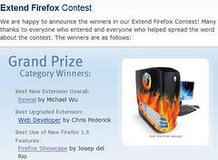 Firefox Contest