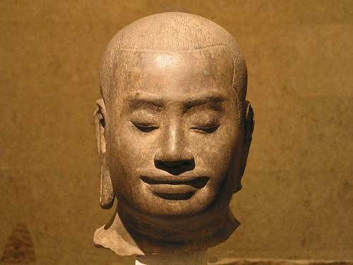闍耶跋摩七世頭像