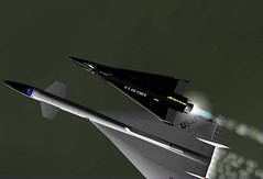 X-15 Delta XB-70 Launch