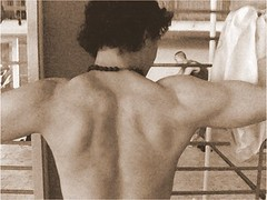 Chuck (Back Shot) in Sepia