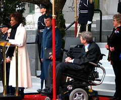 Governor-General Michaelle Jean and Mayor Sam Sullivan