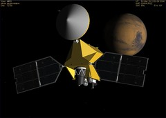 MRO Mars Approach at 7 am EST