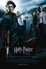 Póster internacional de Harry Potter 4