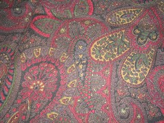 paisley fabric for skirt