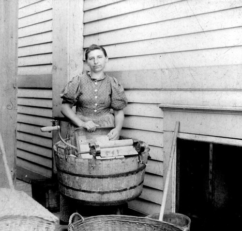 Laundry Lady - Vintage Photo photo by Fosterx2
