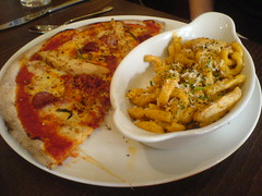 Pizza and Pasta at Zizzi in Edinburgh's West End