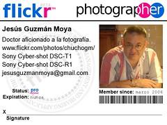 Mi identificación en Flickr